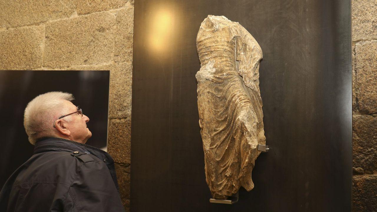 Última escultura descubierta formando parte de los elementos constructivos de la Catedral