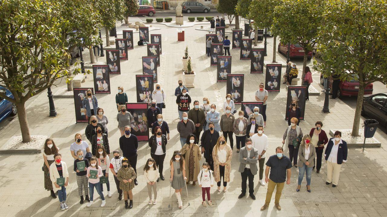 El homenaje fotográfico del Concello de Camariñas a las palilleiras.La pandemia impedirá por segundo año que se celebre la Cata dos Viños de Vilachá