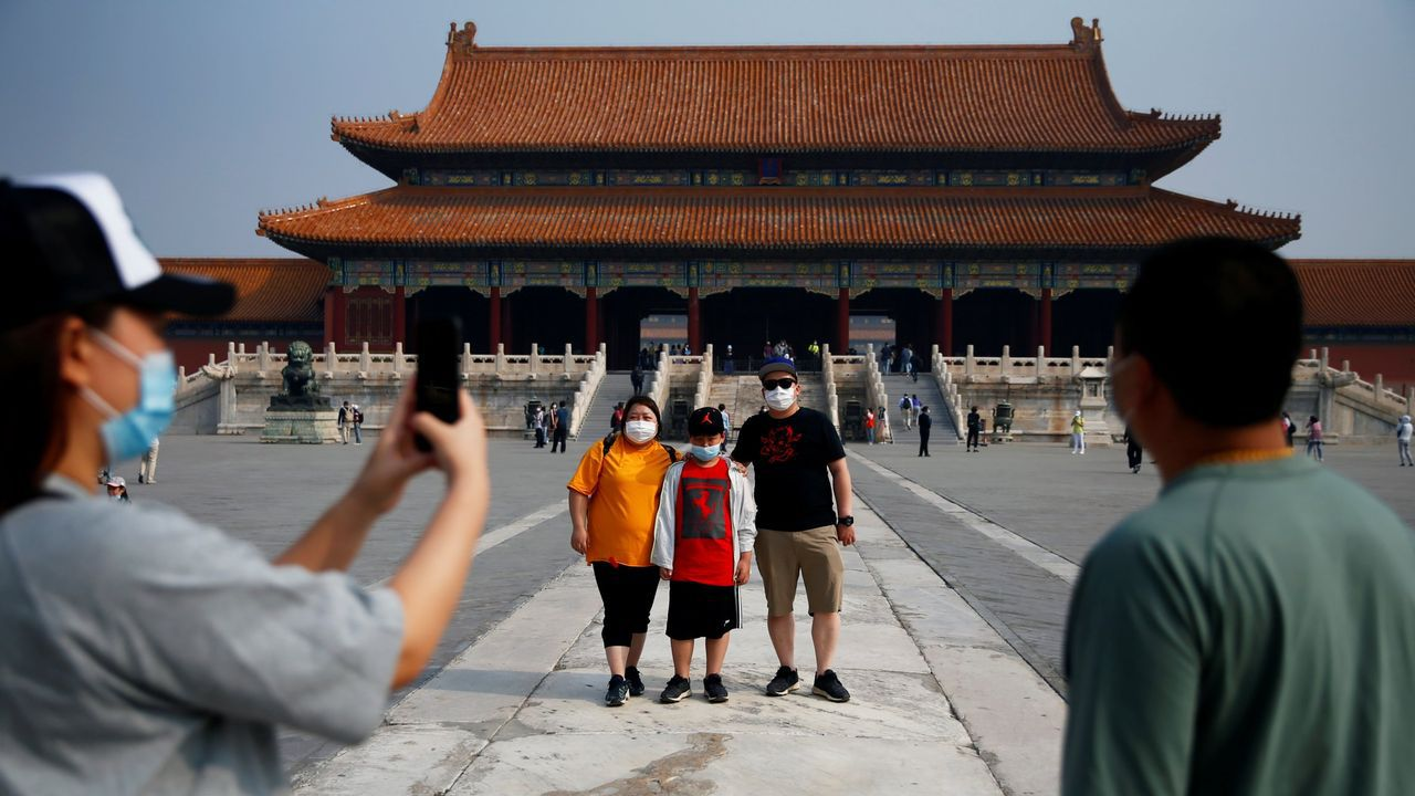 El 1 de mayo también reabrió sus puertas a los visitantes la Ciudad Prohibida de Pekín