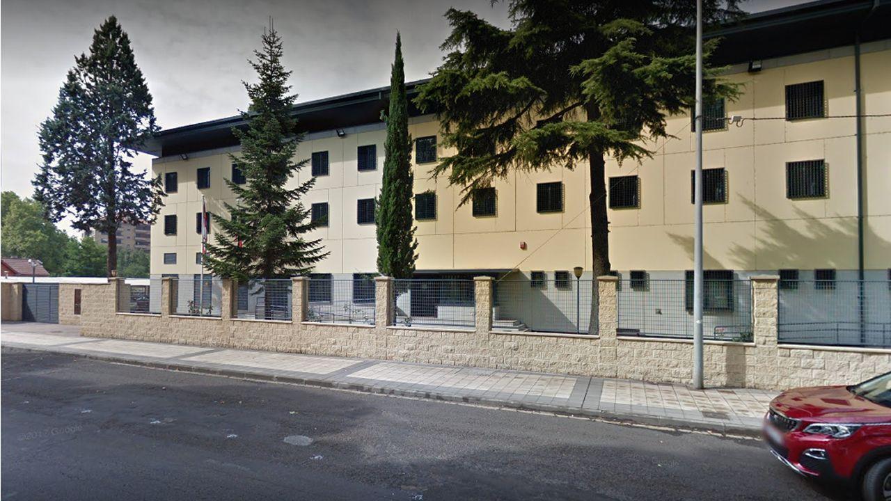 Imagen del exterior del Centro de Inserción Social Jesús Haddad Blanco, de León, de Google Maps