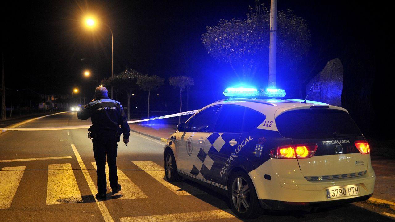 Imagen de un control policial