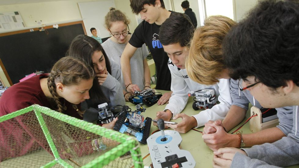 Galicia lleva años promocionando las materias STEM, desde las matemáticas a la ingeniería