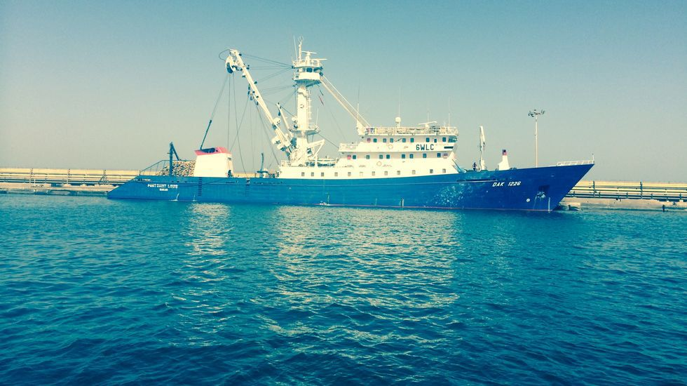 El atunero que acaba de adquirir la armadora viguesa tendrá base en Dakar (Senegal).