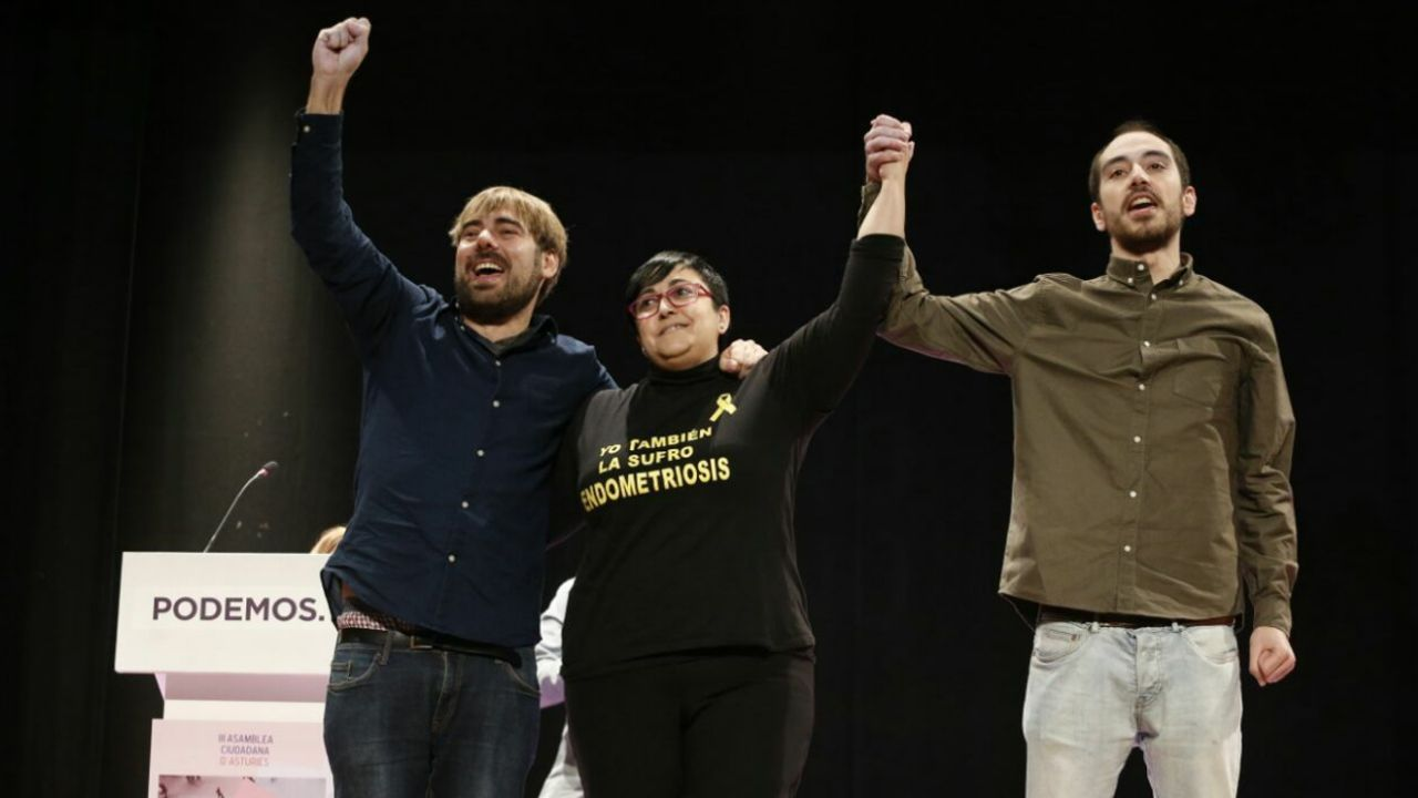 Daniel Ripa, Vanesa Llaneza y Héctor Piernavieja