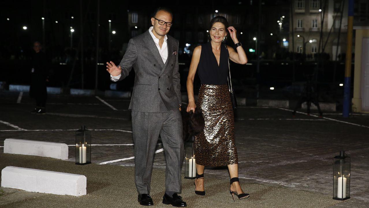 Eva Cárdenas y Alberto Núñez Feijoo
