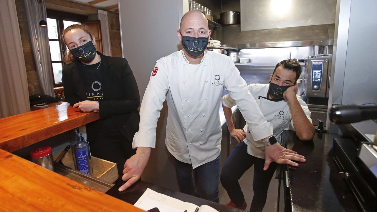 El cocinero Iñaki Bretal, con una estrella Michelín, impartirá el primer taller