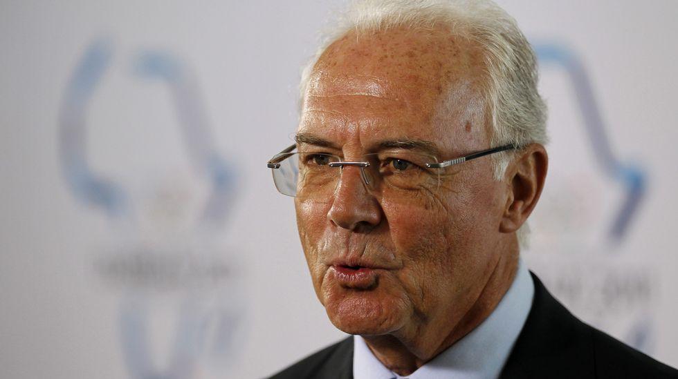Franz Beckenbauer, presidente de honor del Bayern