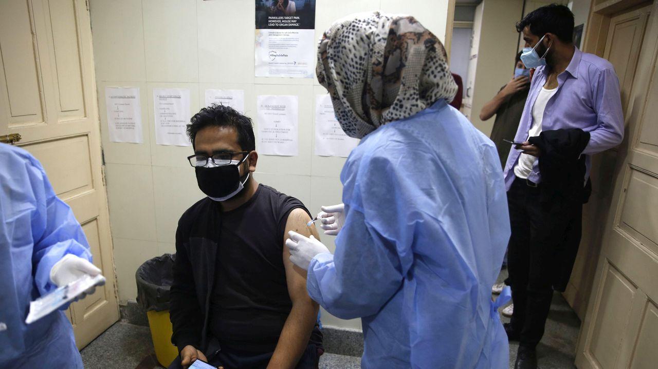 En las últimas 24 horas se administraron 2,7 millones de vacunas en la India