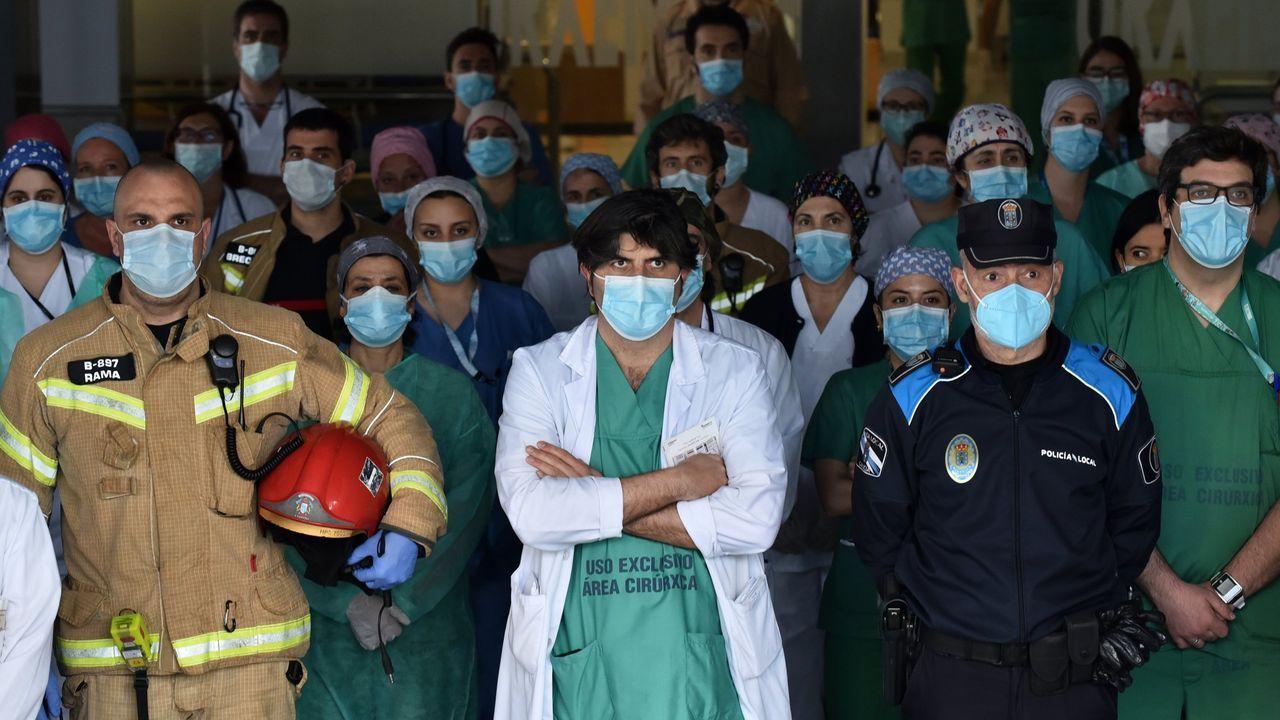 Concentración por los fallecidos en el Chuac