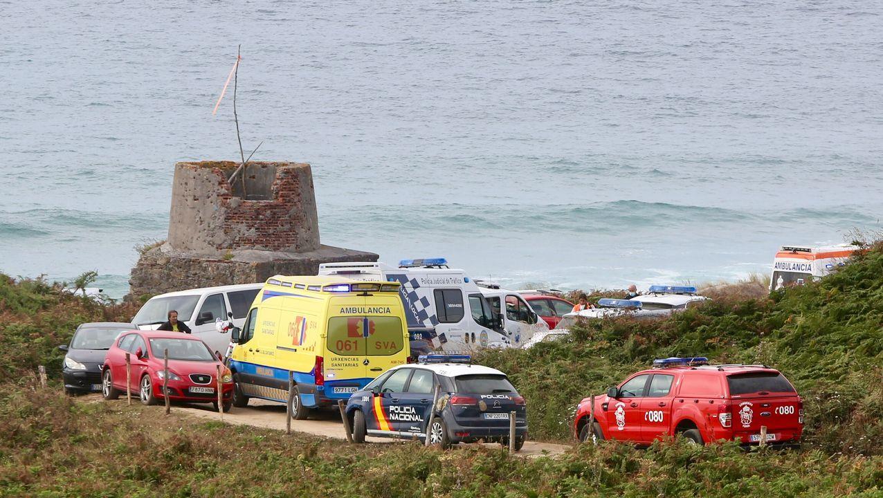 Muere un bañista en la playa de Ponzos, en Ferrol