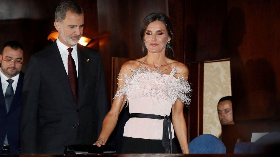 Felipe VI, Letizia Ortiz.Los Reyes, en el Auditorio