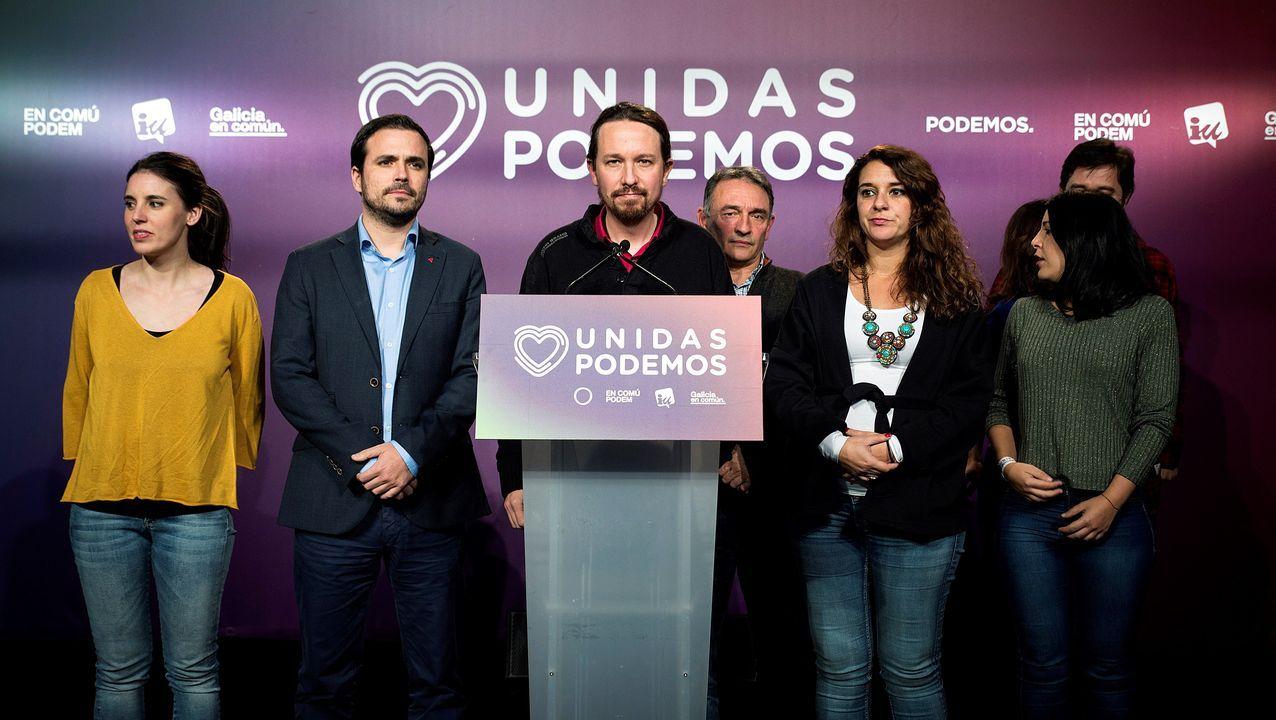 Pablo Iglesias: «Volvemos a tender la mano al PSOE».Itxaso Atutxa, presidenta del PNV en Vizcaya