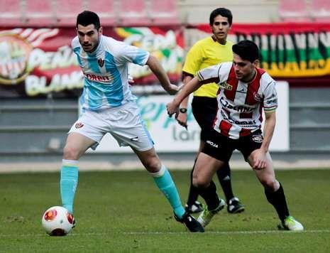 La SD Logroñés llegó a Segunda B, tras el empuje de los aficionados del Club Deportivo riojano.