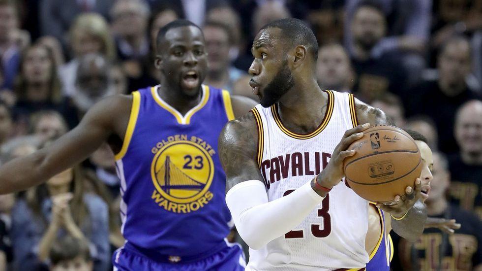 La final de la NBA, en imágenes