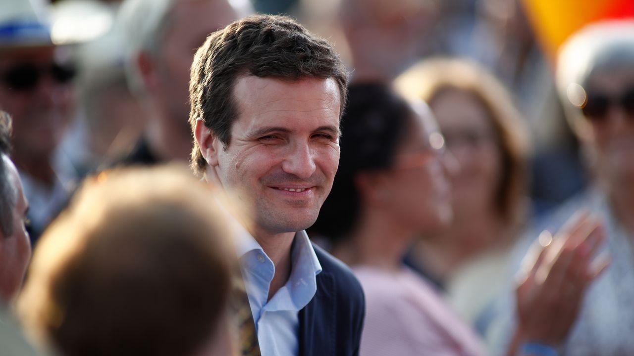 Todas las imágenes de las elecciones del 26M.Oriol Junqueras (ERC). Busca diferenciarse de Junts desde el Congreso.