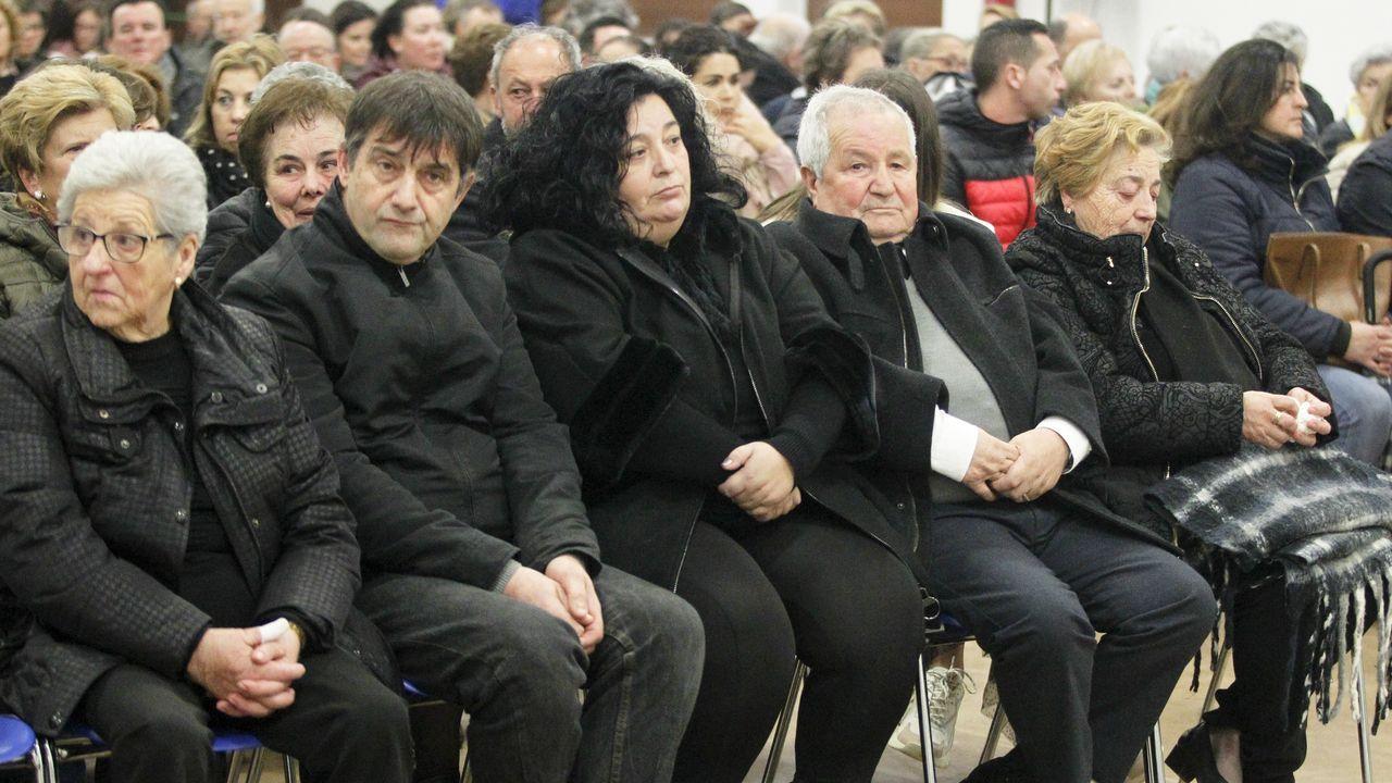 Emotivo homenaje a los cuatro marineros fallecidos en el Sin Querer II