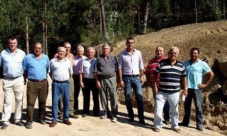 Para la intervención se utilizó tierra de la excavación para la ampliación de la depuradora del Lagares
