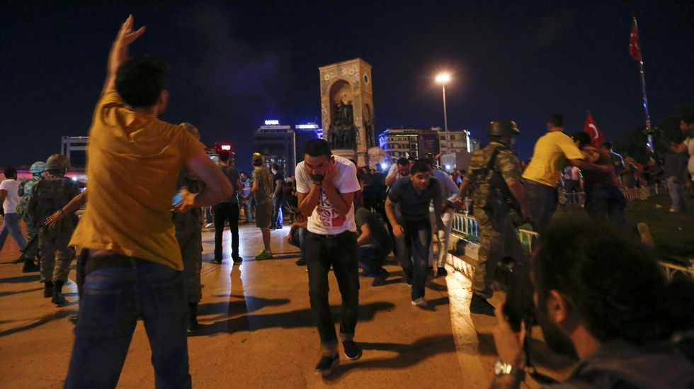 Disparos en Ankara.BULENT KILIC | afp