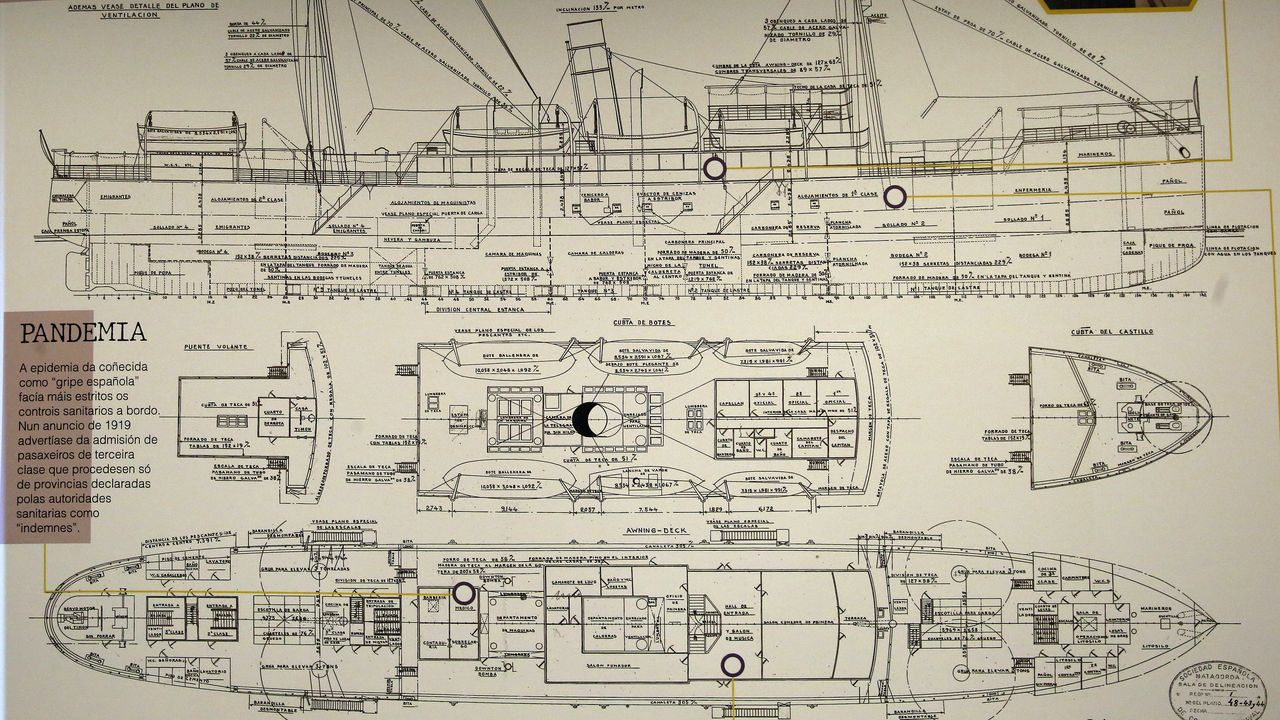 Exposición naufragio Santa Isabel 2021