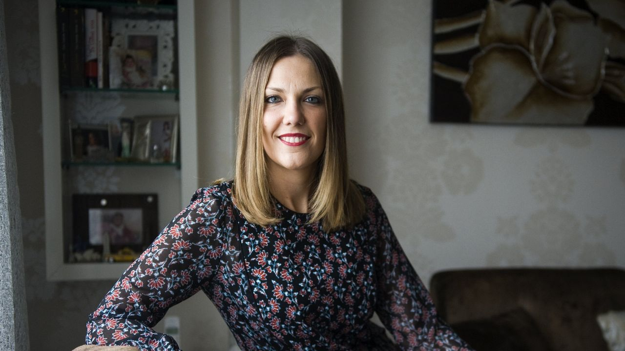 alvedro.Cristina Piñeiro es la presidenta de Asotrame