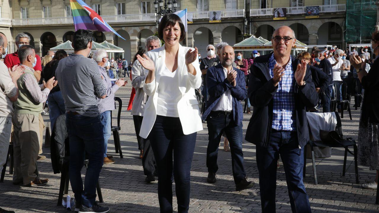 Ana Pontón participa en el acto electoral de cierre de campaña en A Coruña