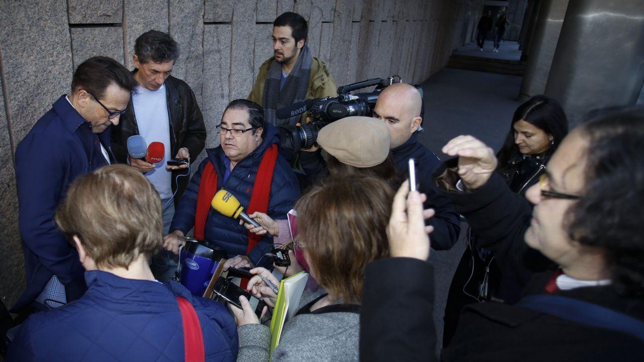 Gerardo Crespo declaró en los juzgados de A Coruña por la Operación Zeta en el 2016