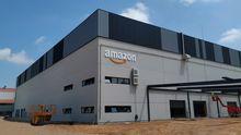 El centro logístico de Amazon en Siero