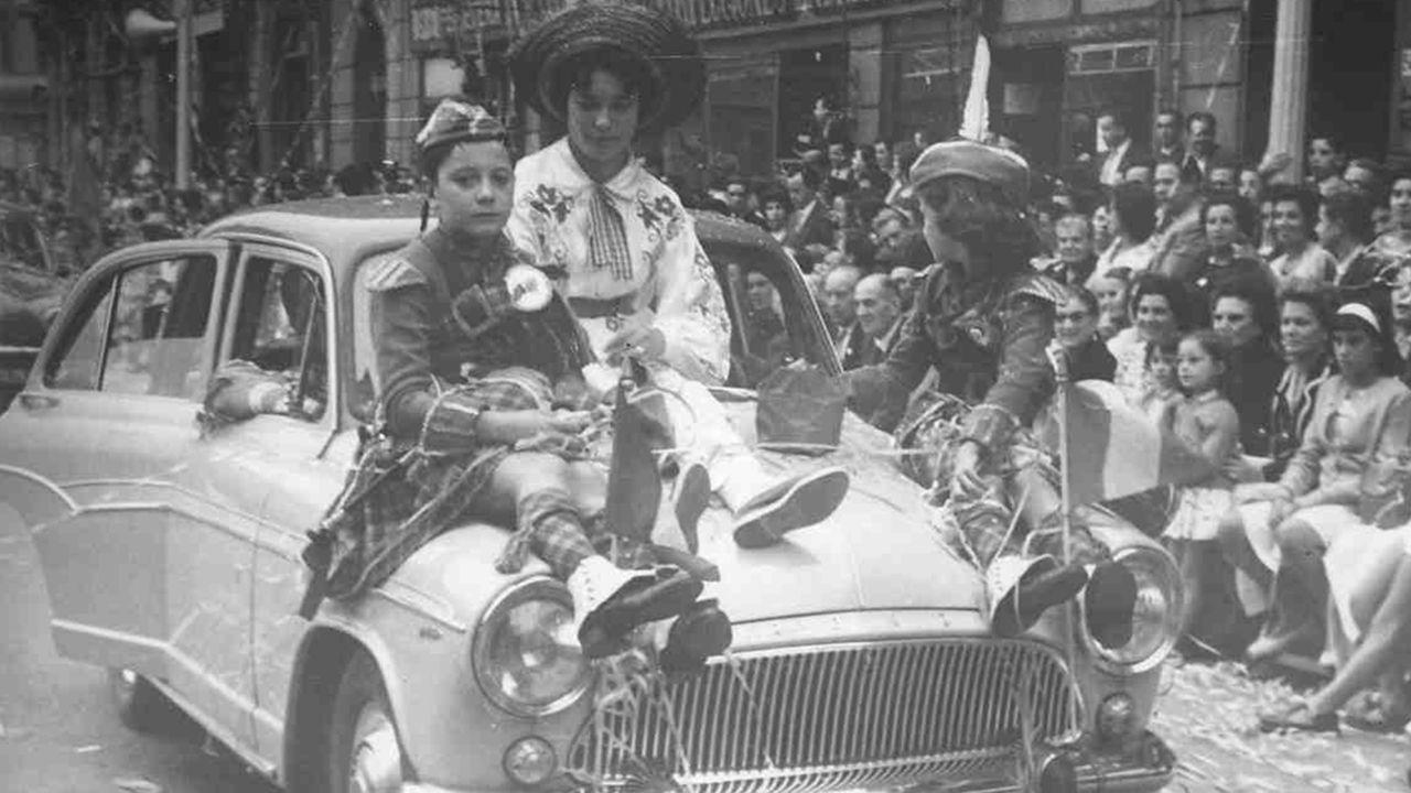 Fotos históricas de San Mateo.De izquierda a derecha: Garrincha, Zito, Nilton Santos, Pelé, Zagallo, Pepe y Didí posando durante la disputa de la final del Teresa Herrera entre el Santos y el Botafogo en 1959. Todos ellos habían sido campeones del mundo un año antes en el Mundial disputado en Suecia.