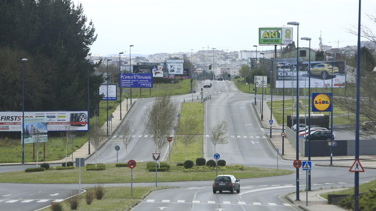 La avenida Infanta Elena