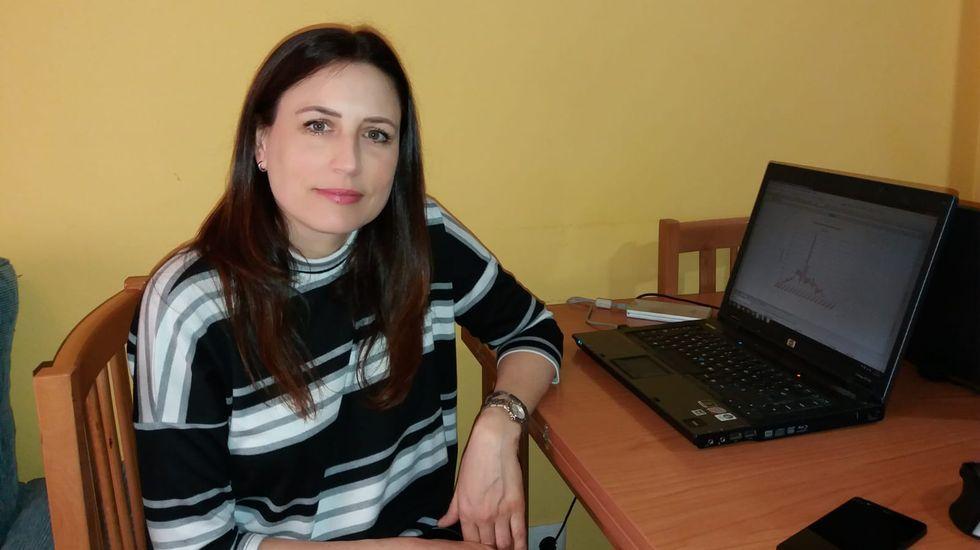 Beatriz Rodríguez leva desde mediados de marzo traballando desde a casa