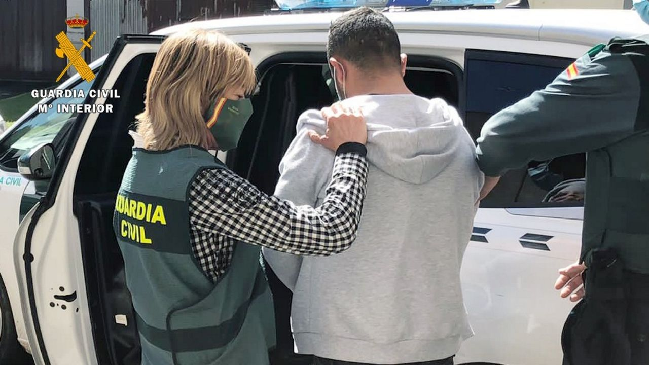 guardia civil asturias.Operativo de vigilancia de la Guardia Civil