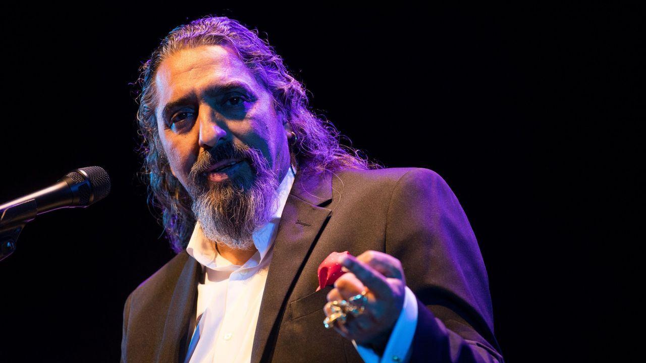 El cantante Diego el Cigala, en una imagen del pasado mayo