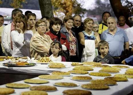 La Romería da Tortilla es en Laro a principios de agosto