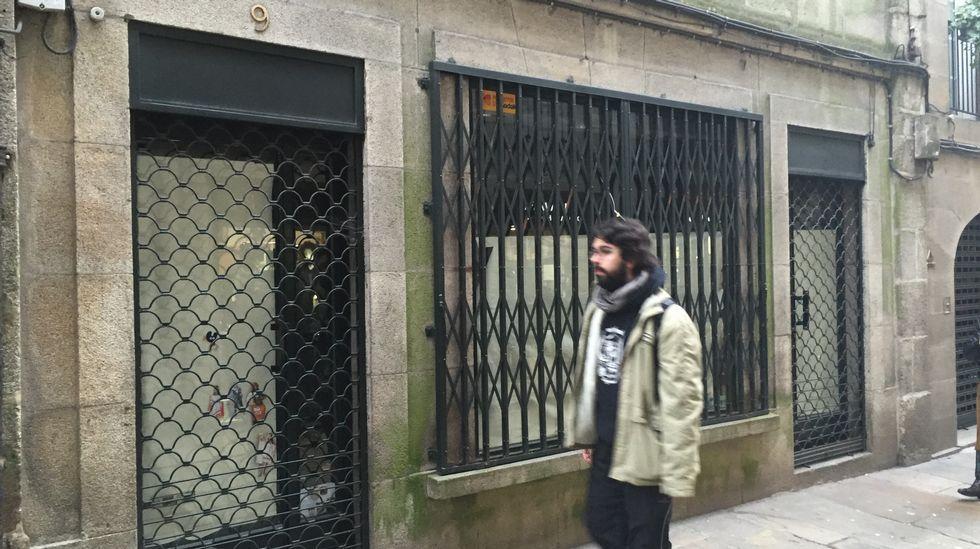 Comercial Ibérico de Orfas, que se traslado a otro local en la misma calle