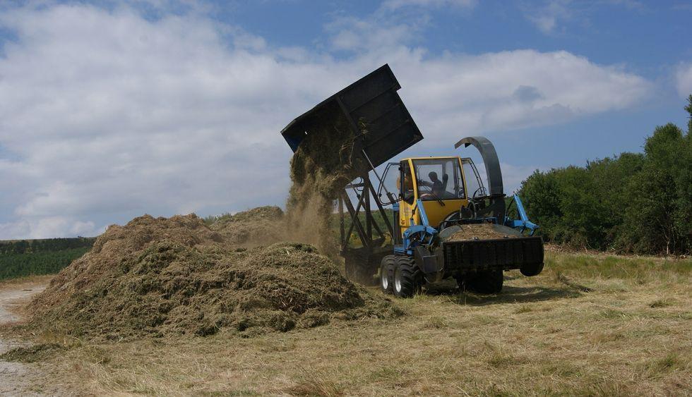 La firma pontesa ha cosechado 345 toneladas de matorral en la escombrera pontesa.