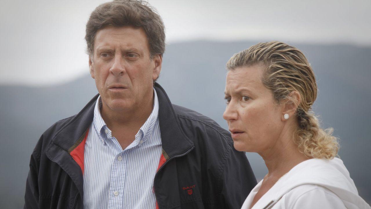 Los padres de Diana dos días después de la desaparición de su hija