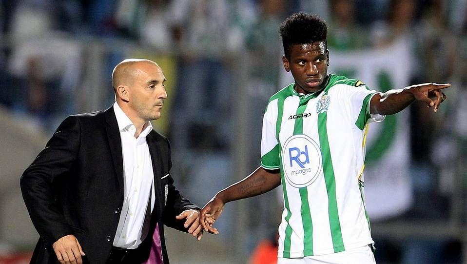 José Carlos, en su debut con el Córdoba