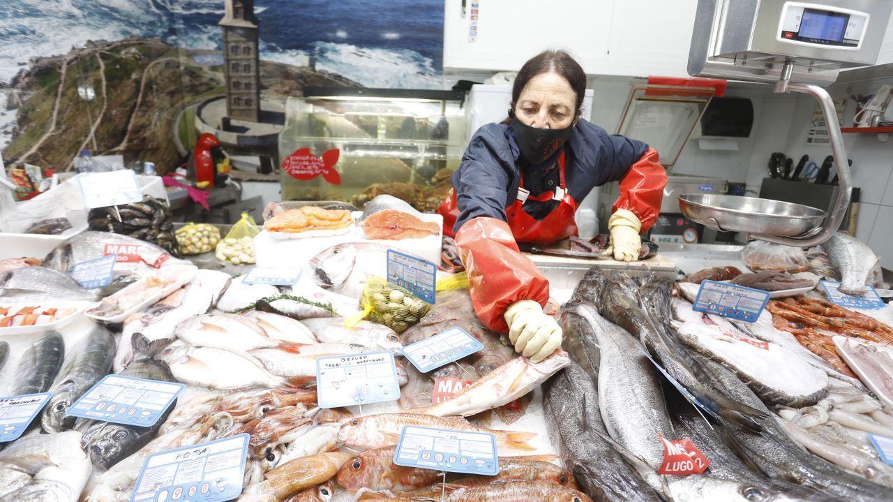 La variedad de pescados está presente en los mercados en estas semanas