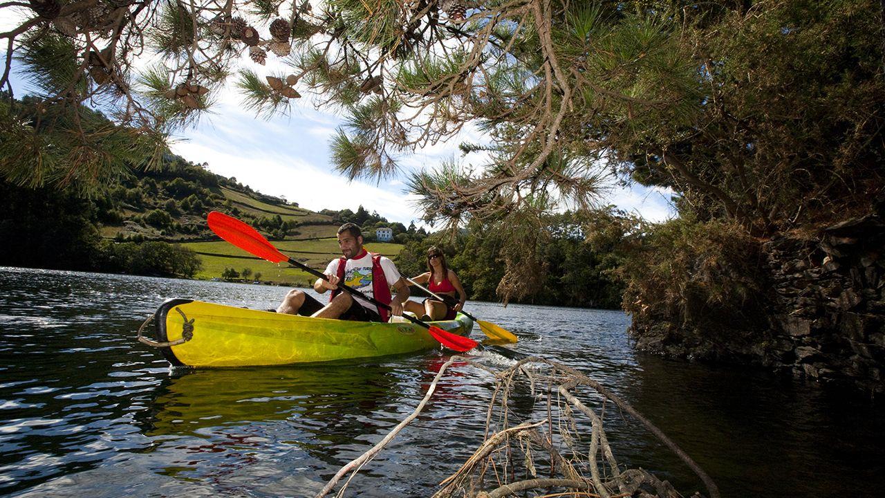 Castro de Coaña.Canoas en el occidente