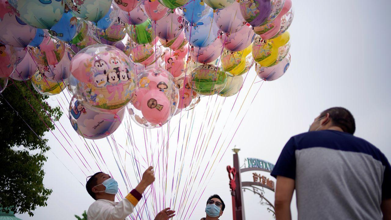 En Shanghai los parques temáticos volverán a abrir sus puertas