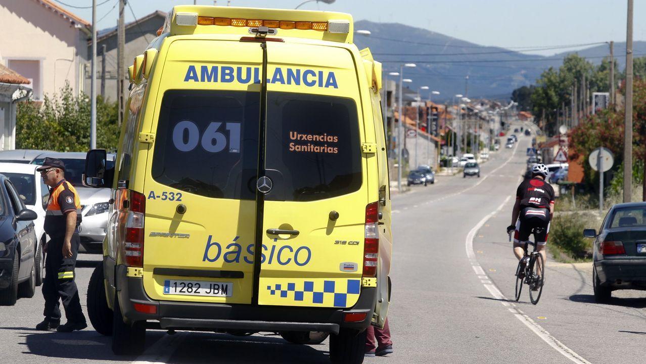 Unos peregrinos que llegaron con fiebre a Vilanova hacen saltar las alarmas, pero finamente dieron negativo en covid.En las puertas del centro de salud de Baltar están tomando la temperatura a todos los pacientes