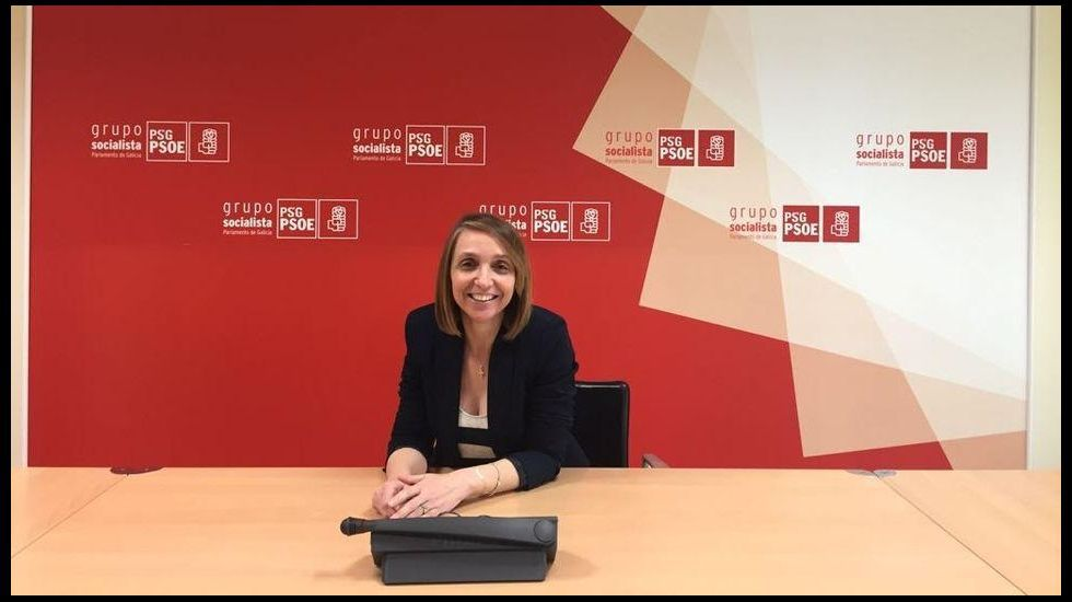 Paloma Rodríguez, portavoz del PSOE larachés