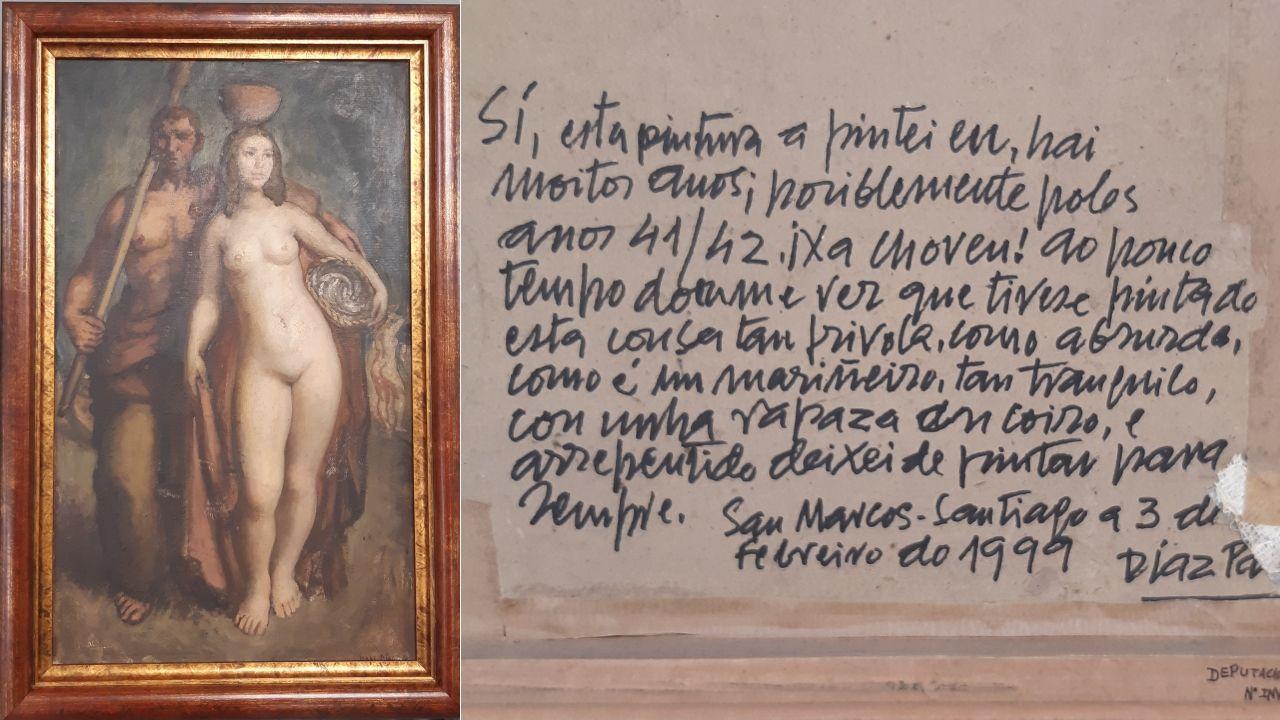 Estado en el que quedó la estatua de Francisco Largo Caballero en los Nuevos Ministerios