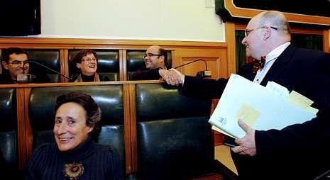 Rubén Cela y Francisco Reyes coinciden en reclamar la celebración del pleno.