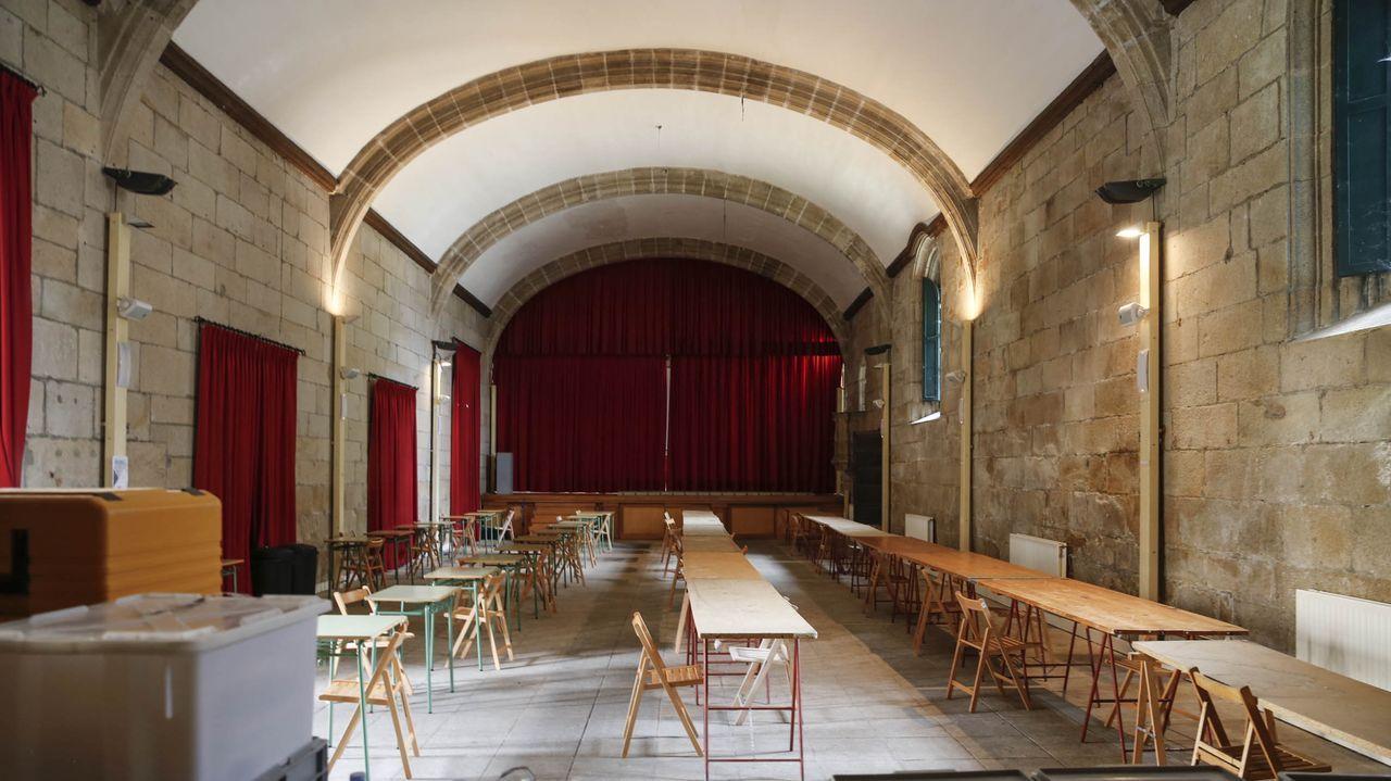 Feira da faba de Celanova.Imagen de archivo del Rali de Ourense 2020