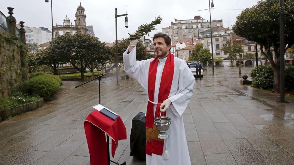 Bendición virtual del Domingo de Ramos desde la Ferrería