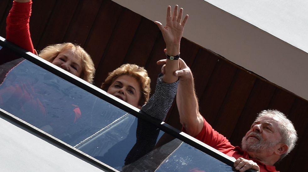 Conmoción en Brasil por Lula