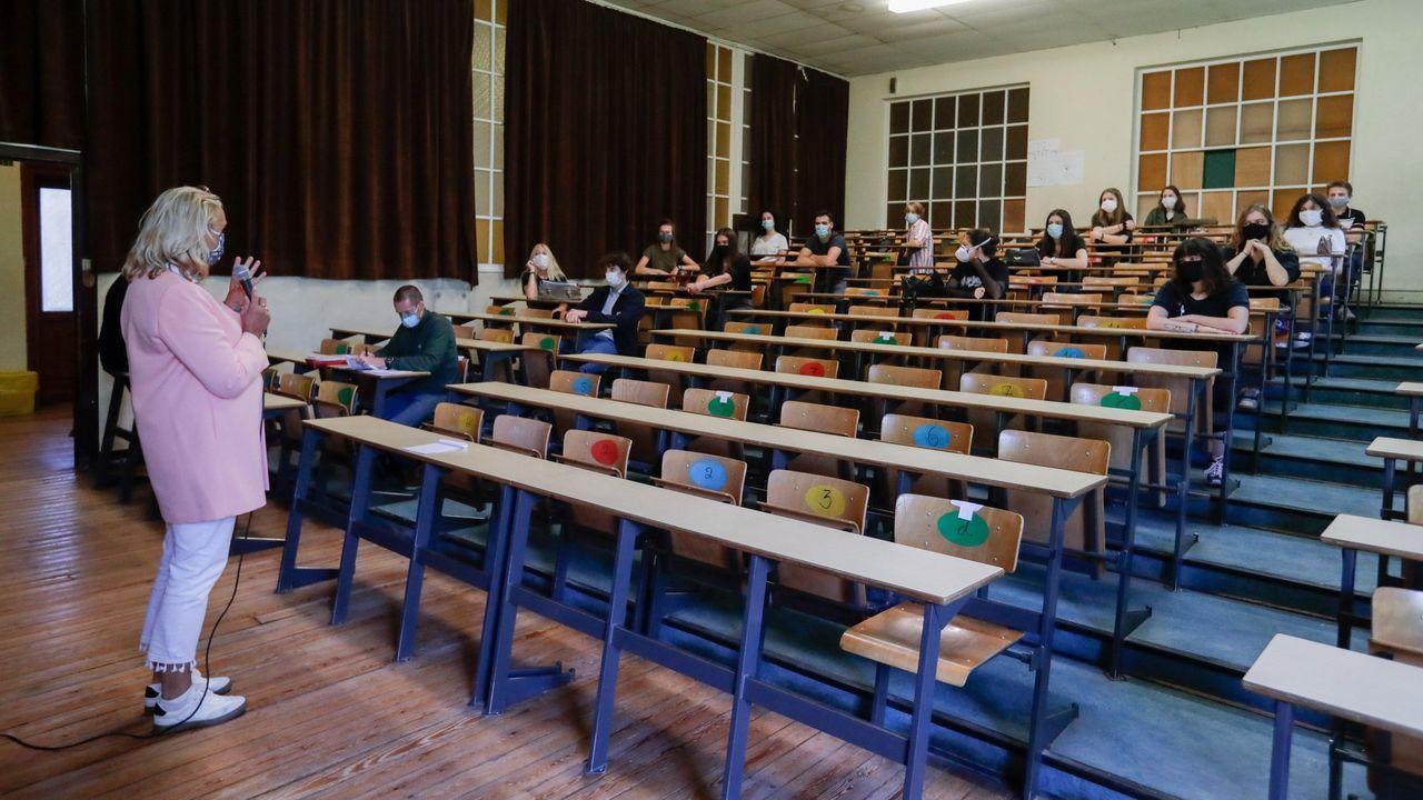 Los estudiantes belgas de secundaria ya regresaron a clase hace días