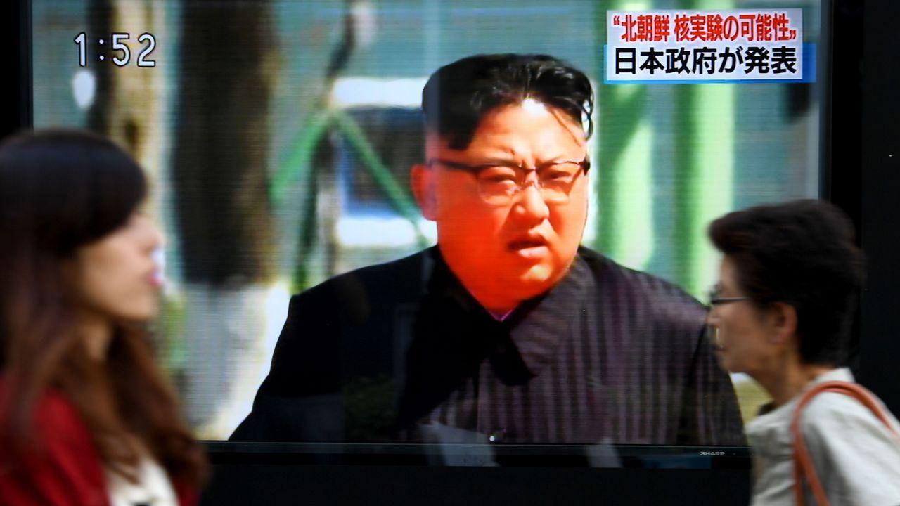 Kim Jong-un, en una foto facilitada por el régimen de Piongyang