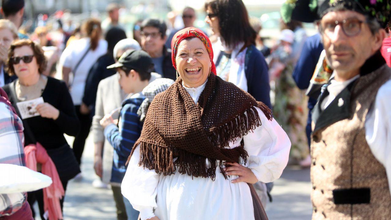 «Fóra» franceses de Vigo.Celebración del 50 aniversario de Cáritas en el pasado mes de enero